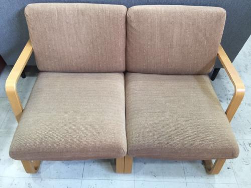 ソファーの2人掛けソファーチェア