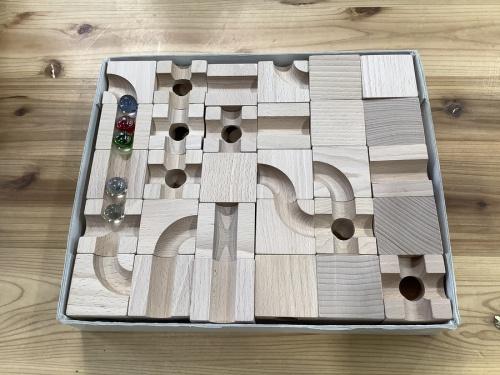 木製ブロックのcuboro