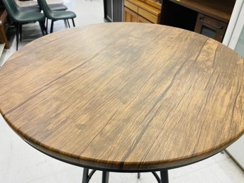 いちおし特選家具のインダストリアル調ハイテーブル