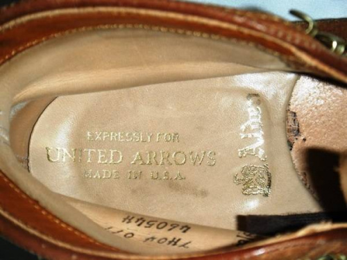 ALDENのUNITED ARROWS