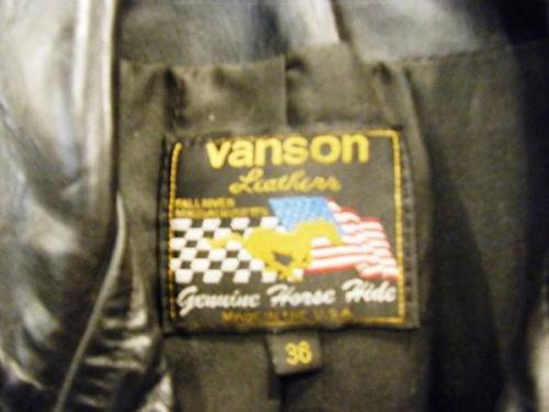 VANSONのバンソン