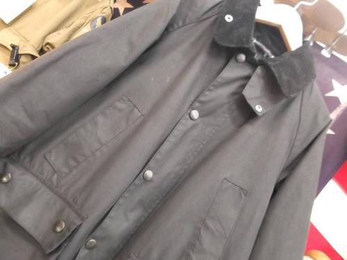 ジャケットのオイルドジャケット