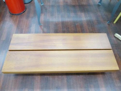 ローテーブルのダイニングテーブル