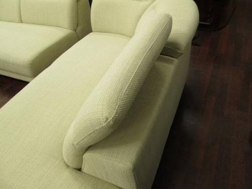 コーナーソファーの3人掛けソファー