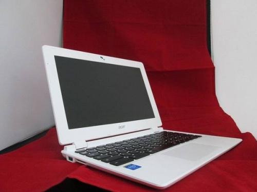 ノートパソコンのchromebook
