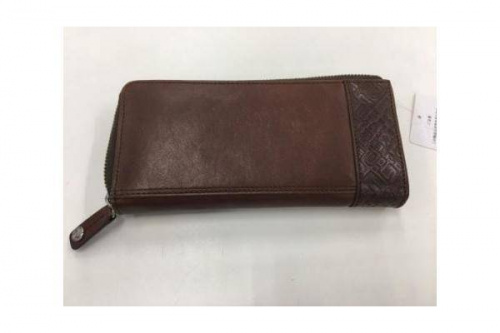 POLICEのL字ファスナー財布