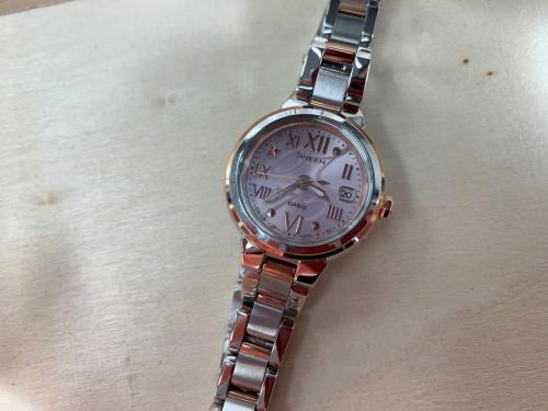 腕時計のカシオレディースウォッチ