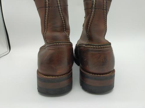 ロンウルフのブーツ