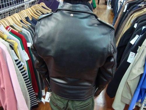 大宮メンズ衣類のレザージャケット
