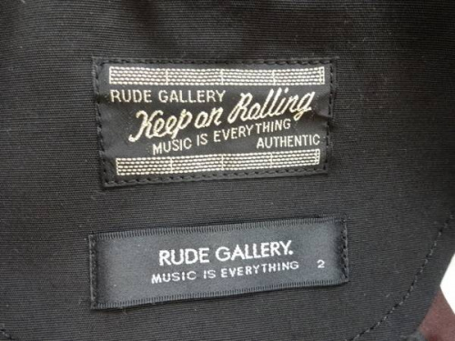 RUDE GALLERYのコミューティングパーカー