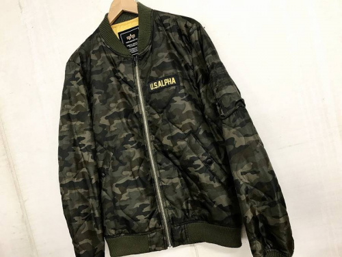 ジャケットのMA-1