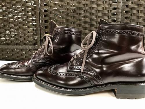 ブーツのALDEN