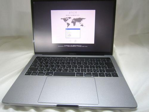 ノートパソコンのMacBook