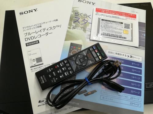 SONYのBDZ-ET1100