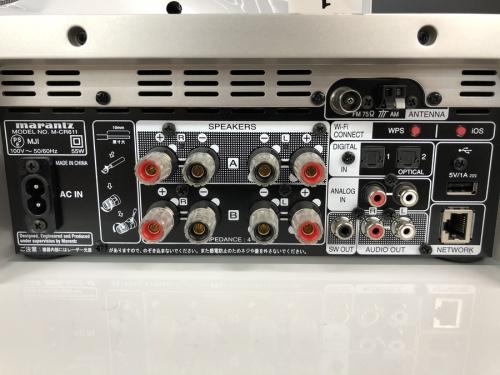 M-CR611  DALI ZENSOR1(スピーカー)