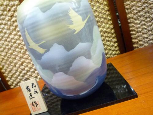 九谷焼の花瓶