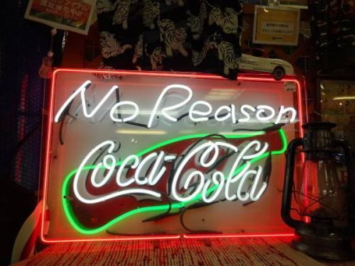 コカコーラのパブミラー
