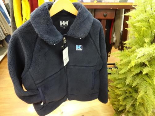 フリースジャケットのヘリーハンセン