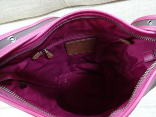 COACHのサドルバッグ