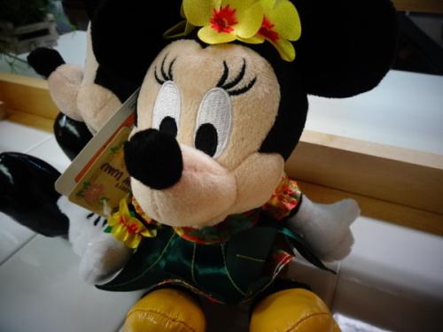 ディズニーランドのミッキーマウス