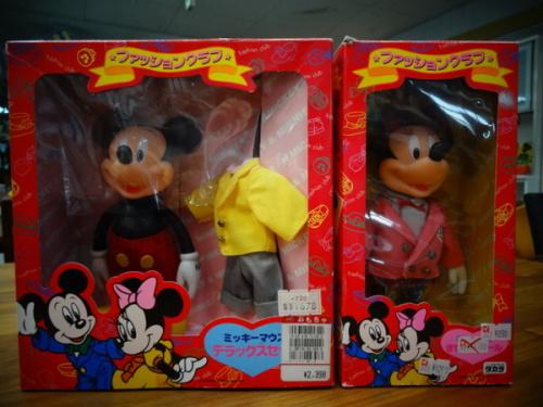 ミッキーマウスのレトロ