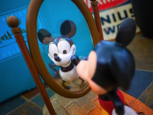 フィギュアのミッキーマウス