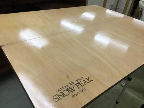 キャンプ用品のsnow peak(スノーピーク)