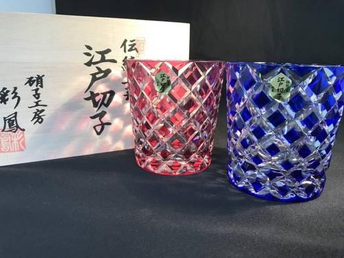 江戸切子の彩鳳