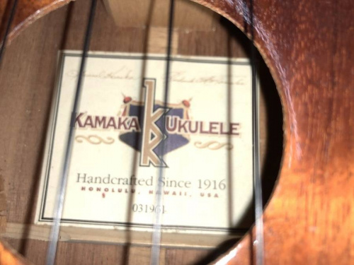ウクレレのKAMAKA
