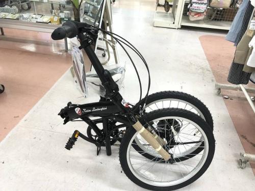 自転車の折りたたみ式