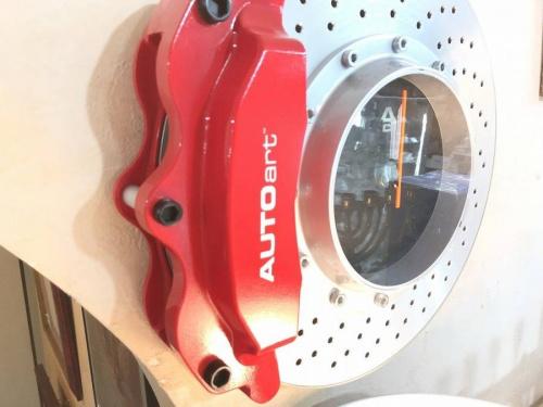 掛け時計のブレーキディスク型