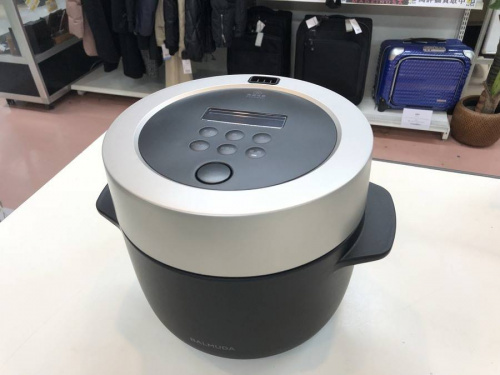 生活家電の炊飯器