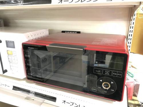 キッチン家電のレンジ