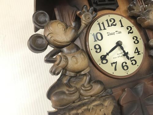 掛時計のDisney