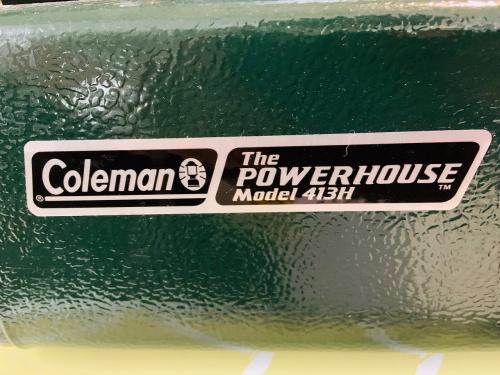 Colemanのガソリンツーバーナー
