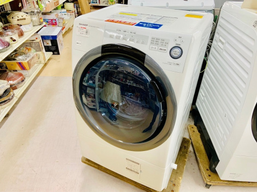 洗濯乾燥機のSHARP