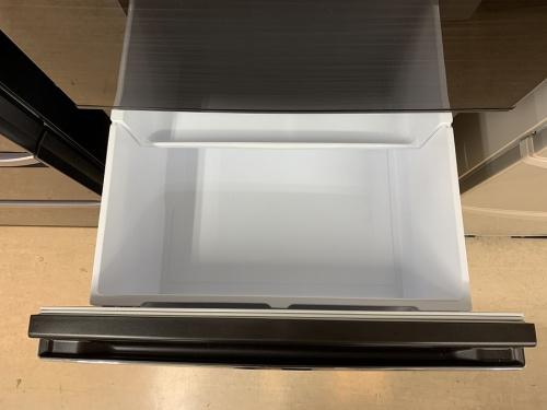 木目調3ドア冷蔵庫のMITSUBISHI