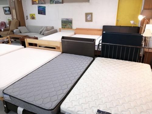 ベッド ベッドフレーム 中古のセミダブルベッド ダブルベッド シングルベッド 中古