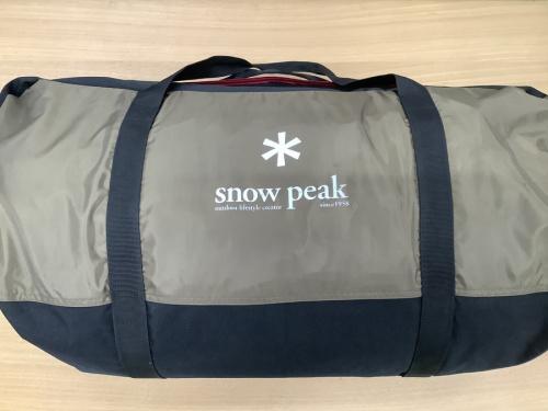 snow peak(スノーピーク)のシェルター