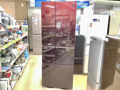 生活家電 中古 の大型冷蔵庫 6ドア冷蔵庫 中古 買取