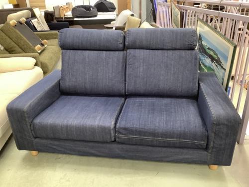 2人掛けソファーの無印良品