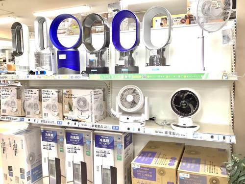 夏物家電 中古 買取の扇風機 除湿器 中古 買取