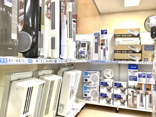 扇風機 除湿器 中古 買取の町田 座間 南町田 玉川学園 成瀬 相模大野 古淵 家電 買取