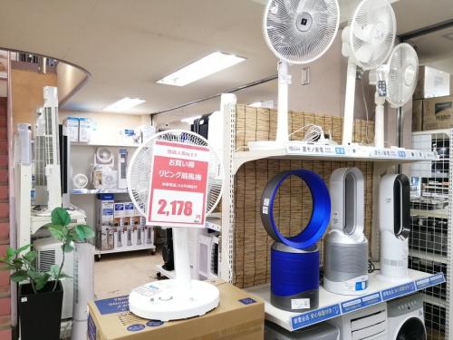 家電 中古 買取の扇風機 タワーファン 買取