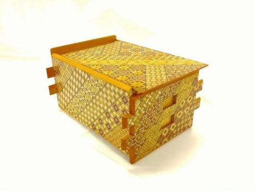 和雑貨の寄木細工
