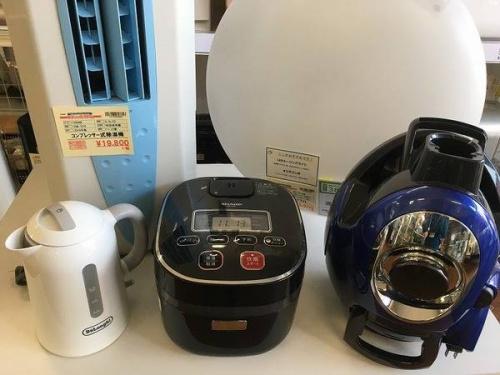 掃除機の炊飯器