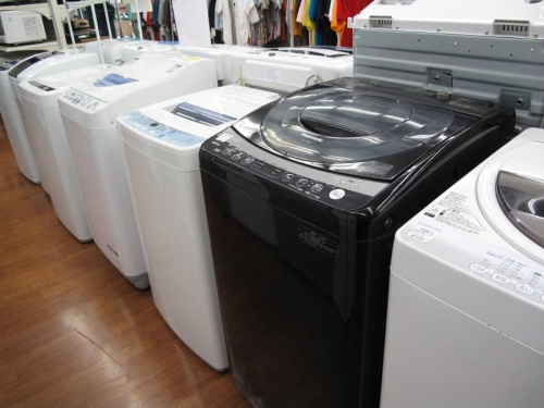 洗濯機の冷蔵庫