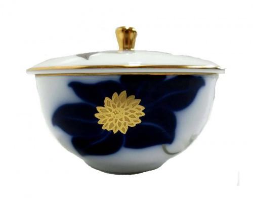 瑠璃鉄線の茶器