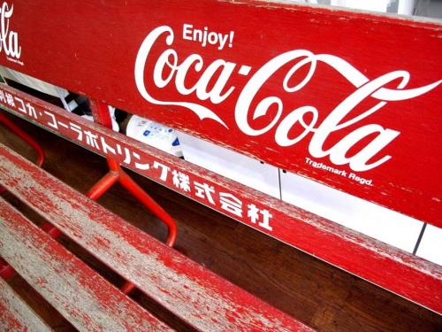 インテリアのコカコーラ