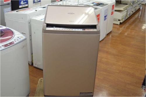 中古洗濯機のHITACHI
